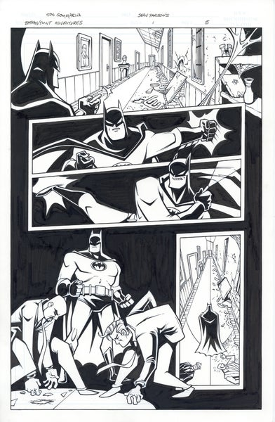 Image of Batman TMNT Adventures 1 Page 05