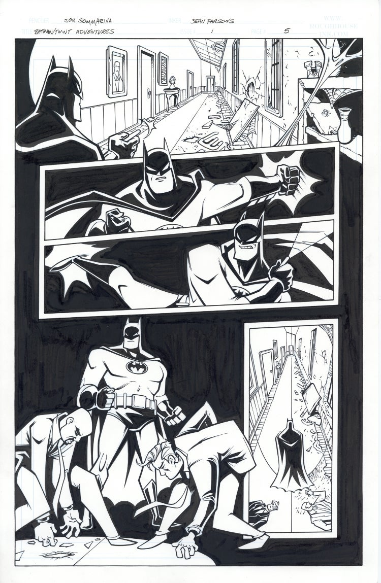 Image of Batman TMNT Adventures 1 Page 05