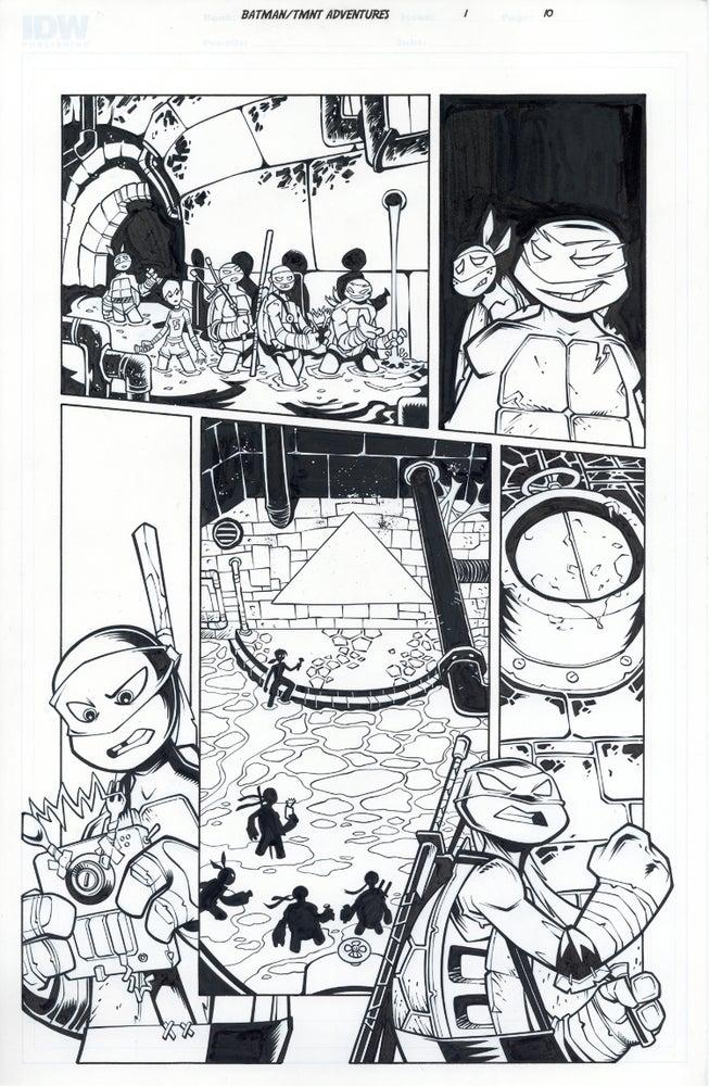 Image of Batman TMNT Adventures 1 Page 10