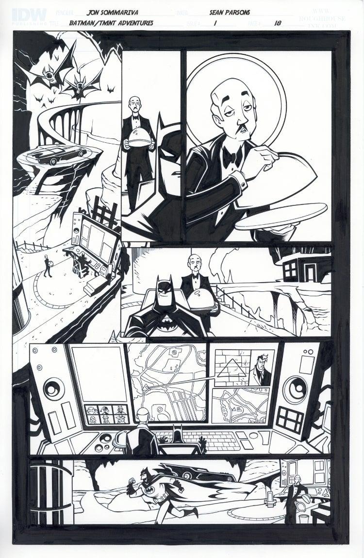 Image of Batman TMNT Adventures 1 Page 18