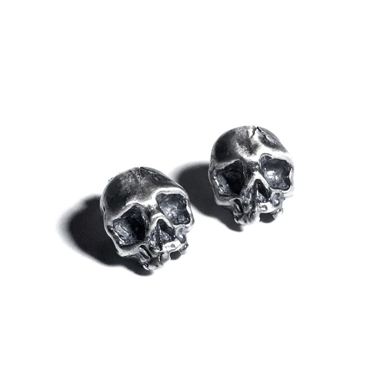 Image of Cataphile earrings in sterling silver