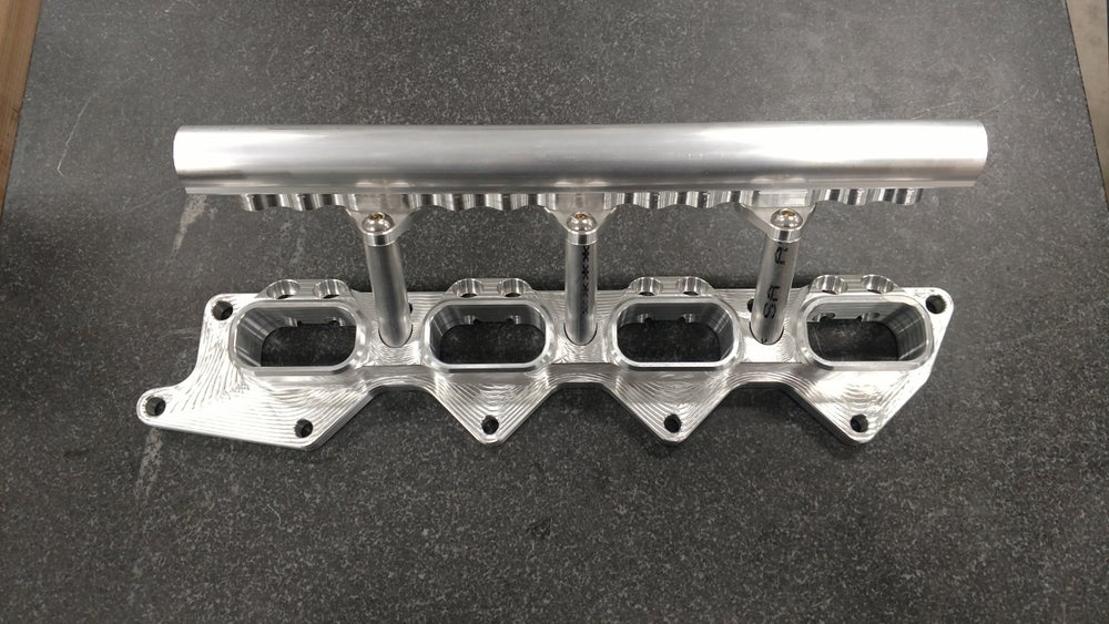 Image of Mitsubishi Evolution 7-9 dual injector head flange