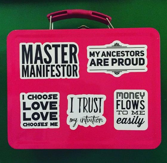 Image of sticker affirmation pack