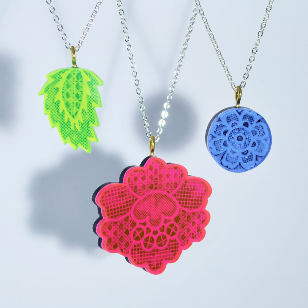 Image of Lace Necklaces