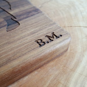 Image of Personalized Cutting Board - Wood Wedding Gift - Custom Cutting Board - Wedding Gift