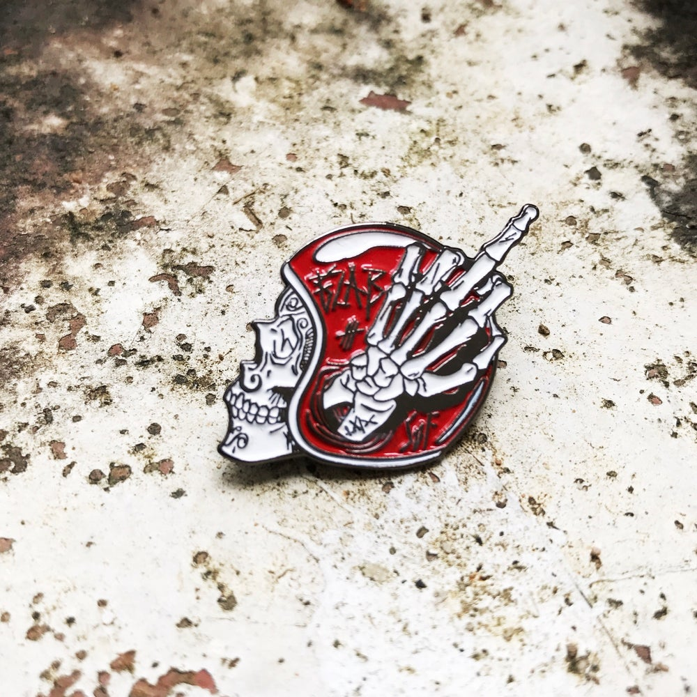 Image of Sons of Fuckers enamel pin