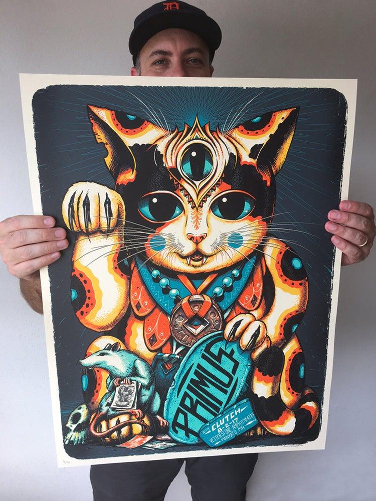 Image of Primus Lucky Neko Poster