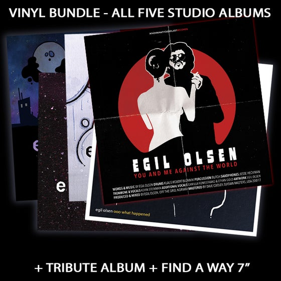 image of VINYL BUNDLE (ALL ALBUMS + +)