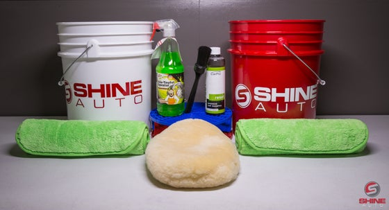 Image of Shine Auto CQuartz Wash Kit