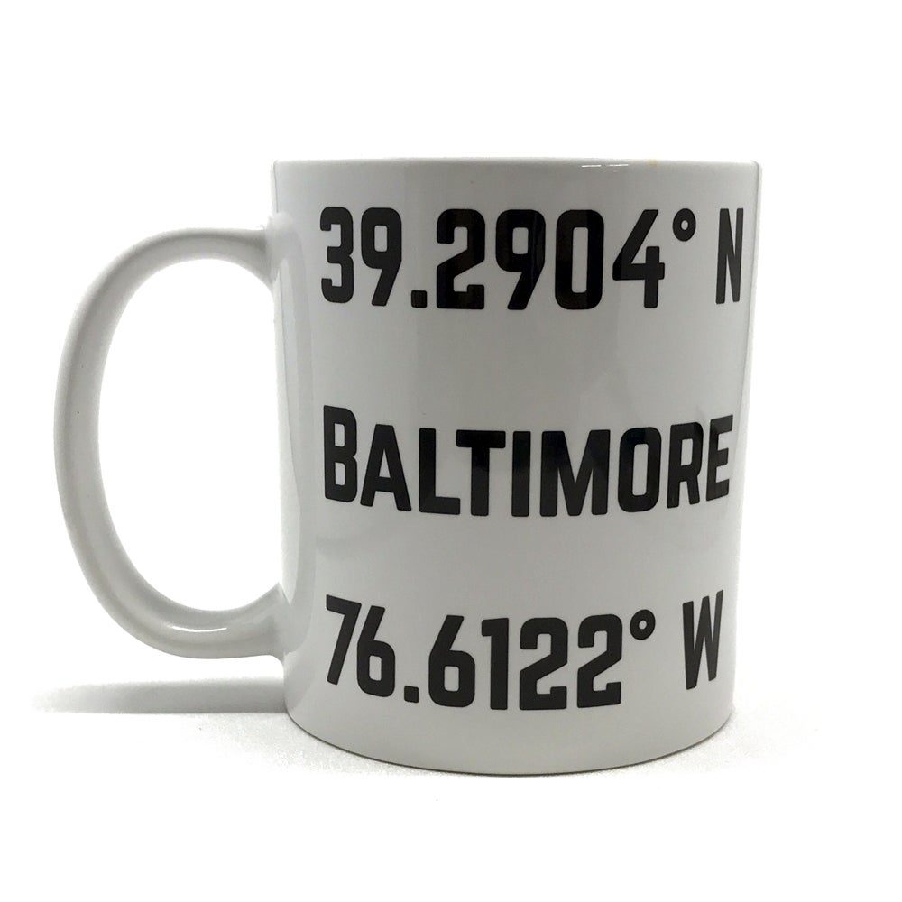 Image of Baltimore Coordinates Mug