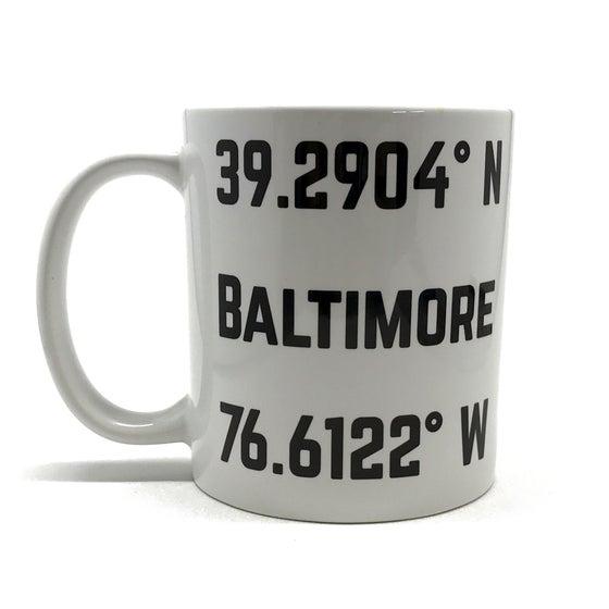 Image of Baltimore Coordinates Mug