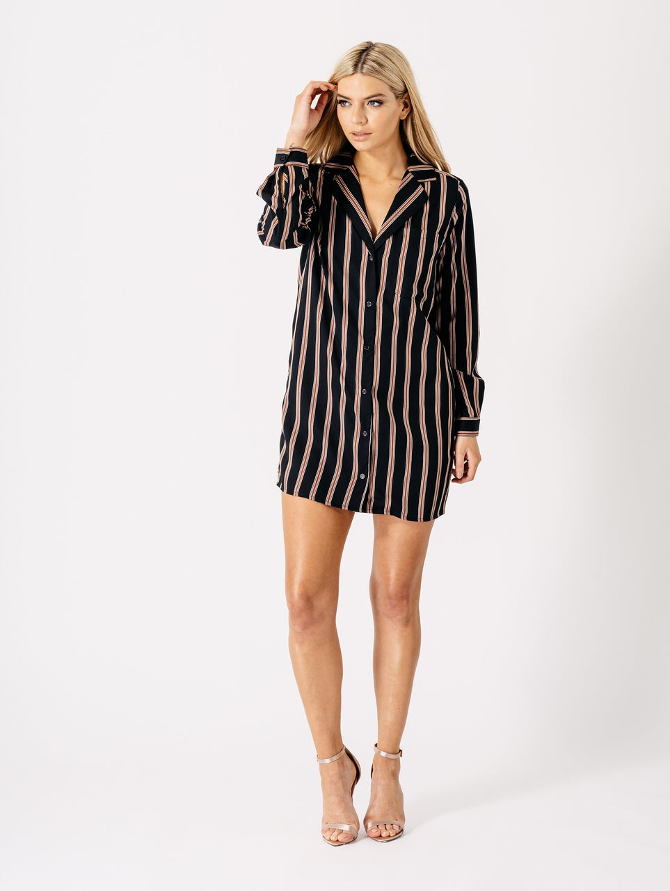 Image of Arie shirt dress