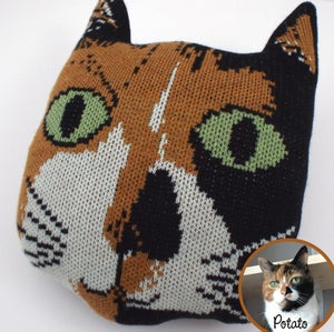 Image of Custom Cat Cushion