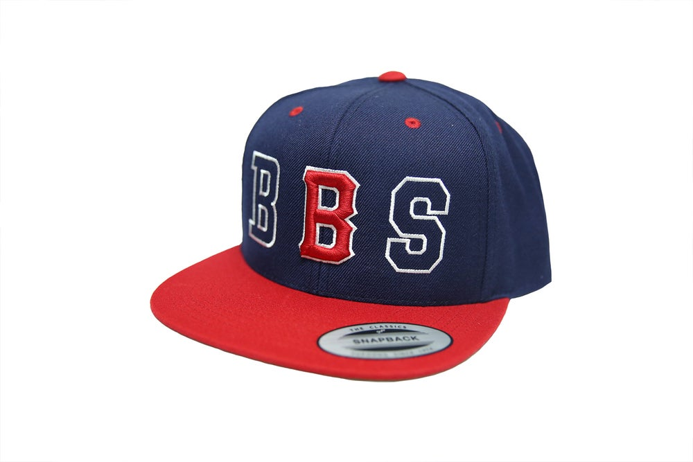 Image of BBS Stencil 2-Tone: Red