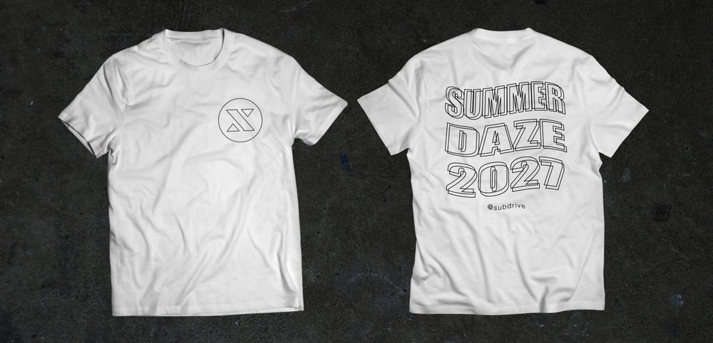 Image of Subdrive Summer Daze 2027 Tee
