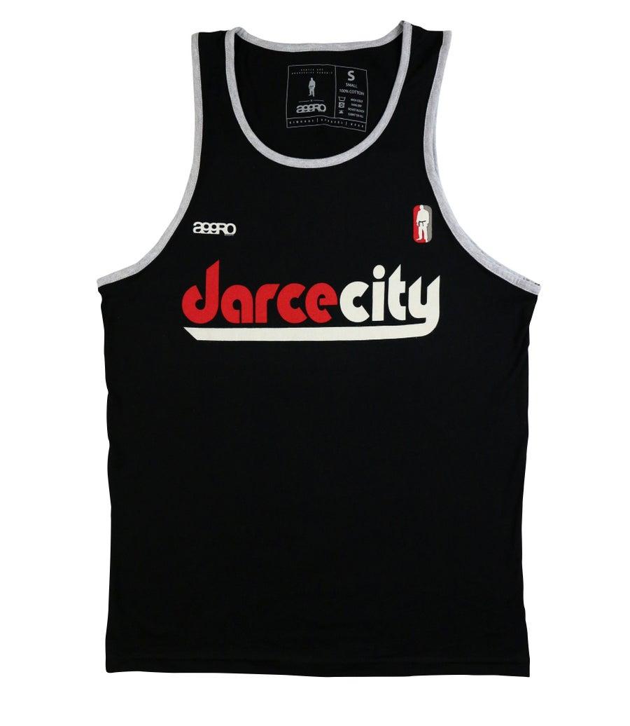 "Image of AGGRO Brand ""DarceCity"" Contrast Tank Top"