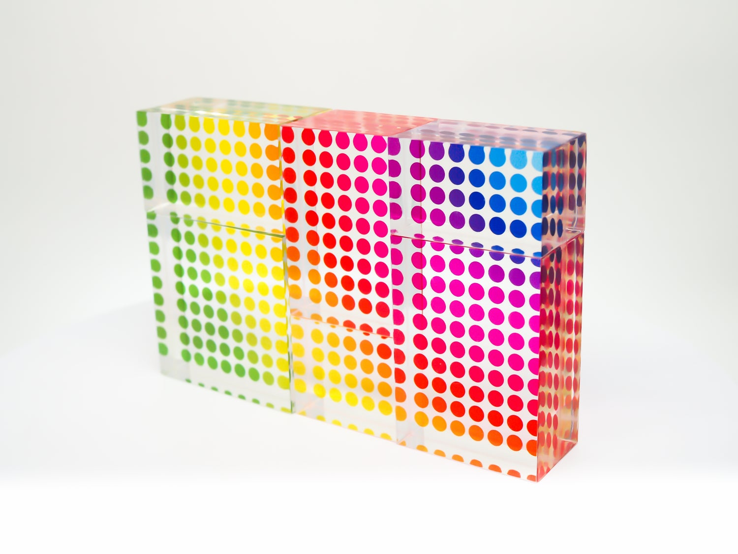 Image of Rainbow clear puzzle