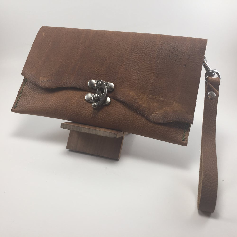Image of Lydia Clutch (Light Brown)