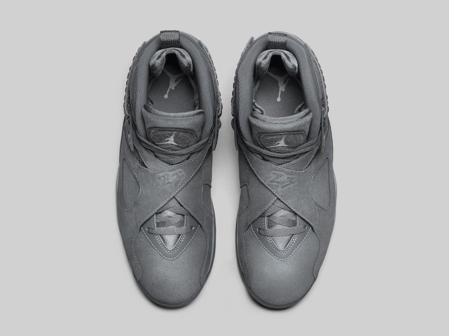 jordan 8 cool grey. image of air jordan 8 cool grey jordan u