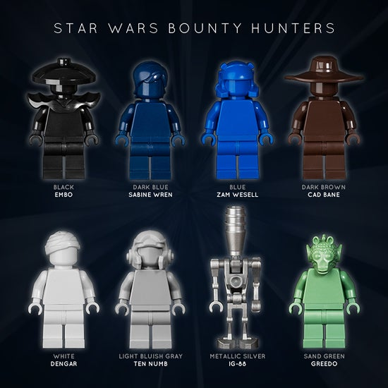 Image of STAR WARS BOUNTY HUNTERS