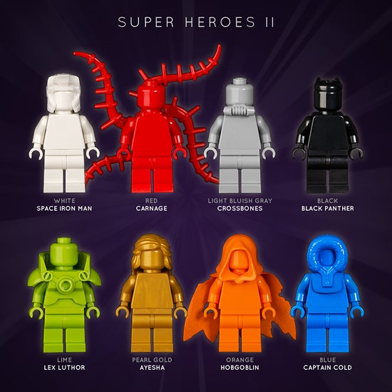 Image of SUPER HEROES II
