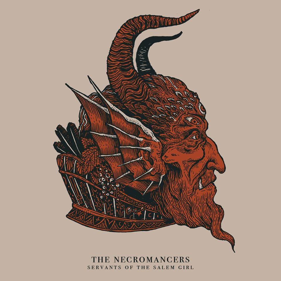 Image of The Necromancers - Servants of the Salem Girl Black Magic LP