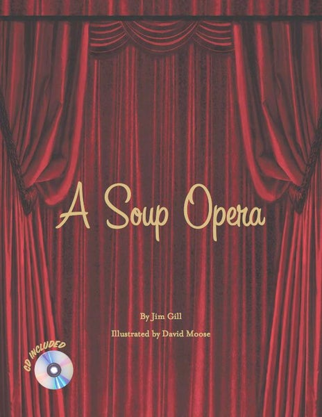 Image of A Soup Opera (Hardcover Book + CD)