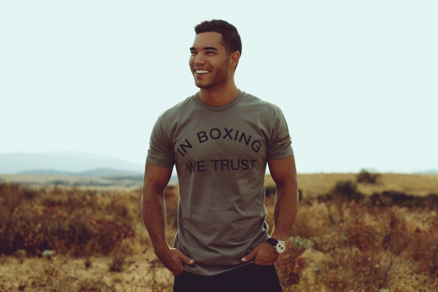 Image of In Boxing we Trust men's Tees