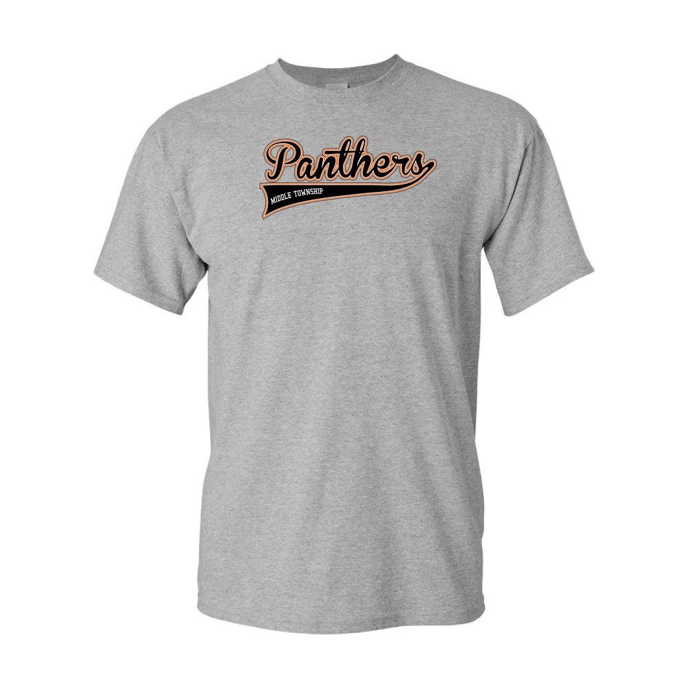 Image of Panthers Logo Tee (Grey)