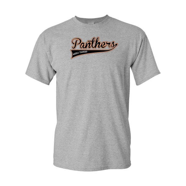 Image of Panthers Logo Tee (Grey)