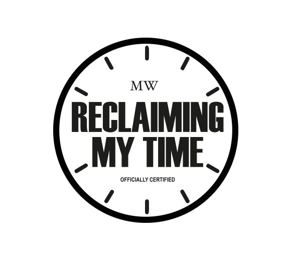 Image of Reclaiming My Time Enamel Pin