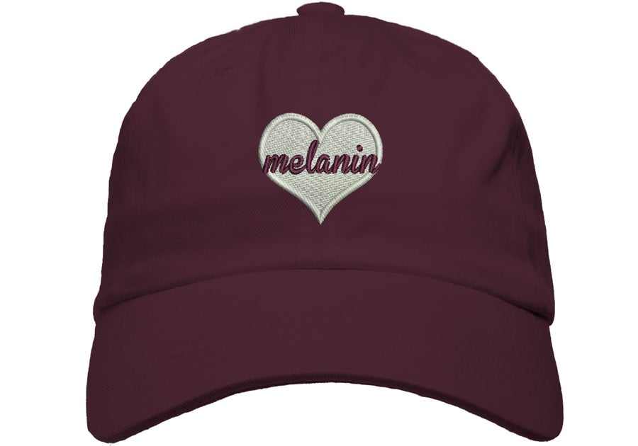 Image of Melanin Love Dad Hat