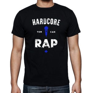 Image of Hardcore Rap (Blue) T-shirt