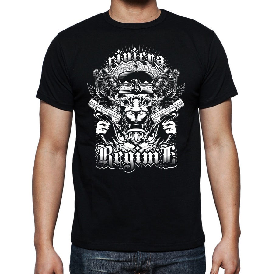 Image of   Riviera Regime Lion T-shirt