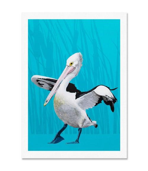 Image of Pelican Print
