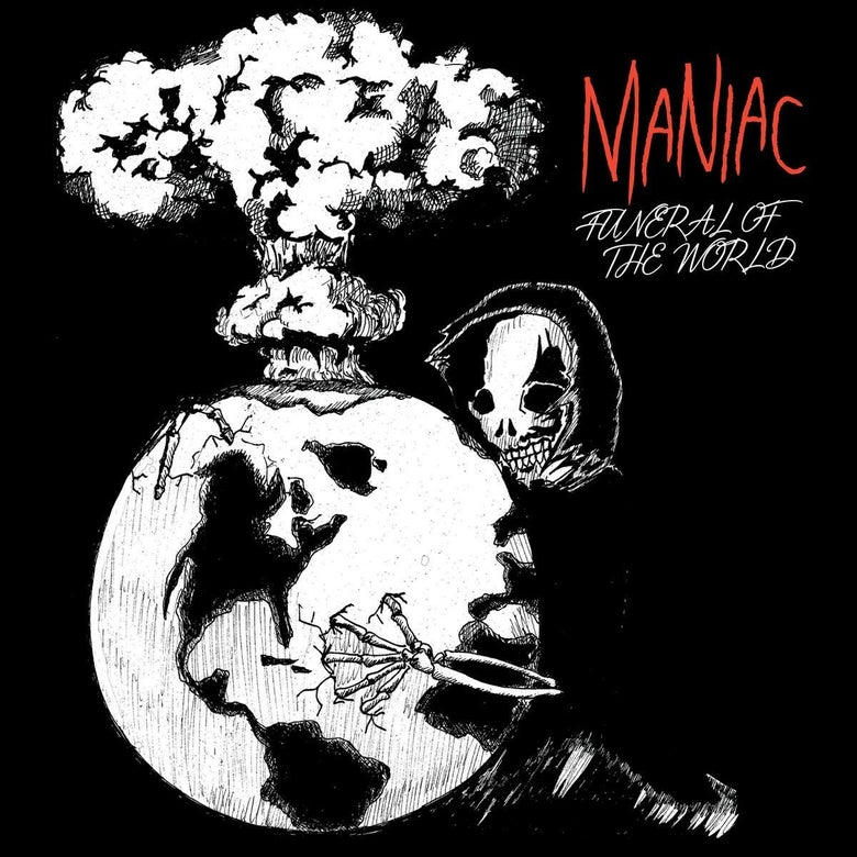 Image of Maniac - Funeral of the World 7""