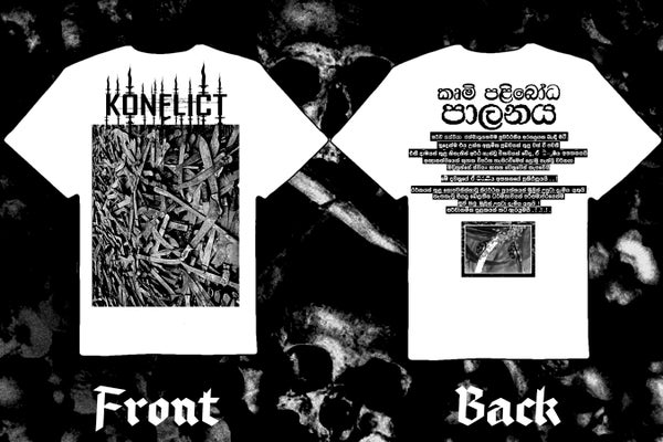 "Image of KONFLICT "" The Final Wave"" double sided t-shirt"