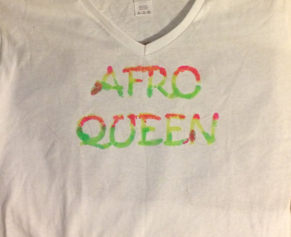 Image of Afro Queen Shirt