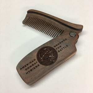 Image of Premium Sandalwood Folding Comb