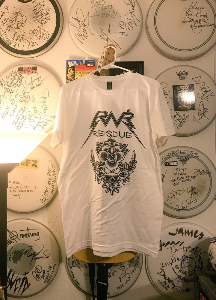 Image of Rock n'Roll Rescue x Tokyo Hiro T shirts