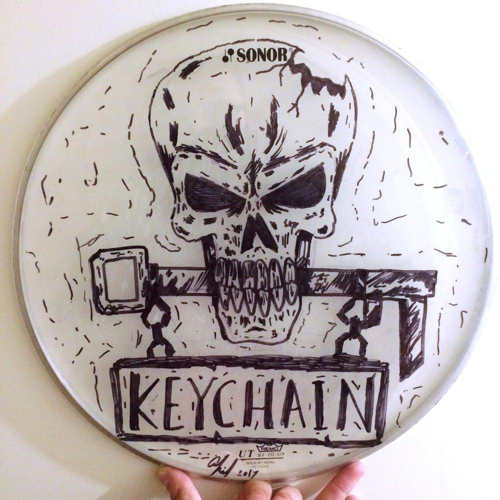 Image of *CUSTOM* Drum-Head Drawing (SIGNED)