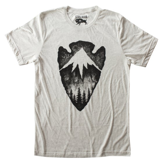 Image of T-SHIRT - HERITAGE (OATMEAL)