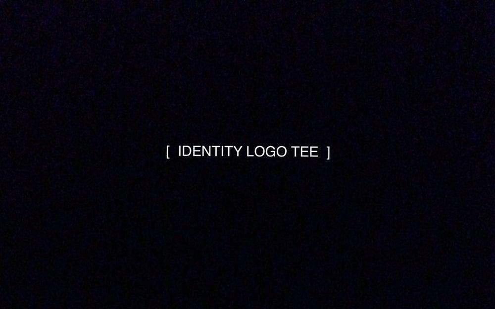 Image of Identity Tee (White/Black)