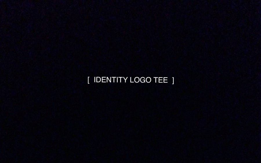 Image of Identity Tee (White/Black)