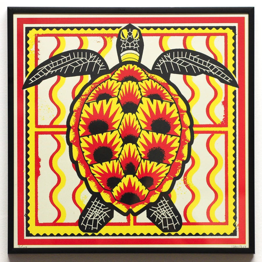 Image of Lewis Heriz // Screenprint // Turtle // Unframed