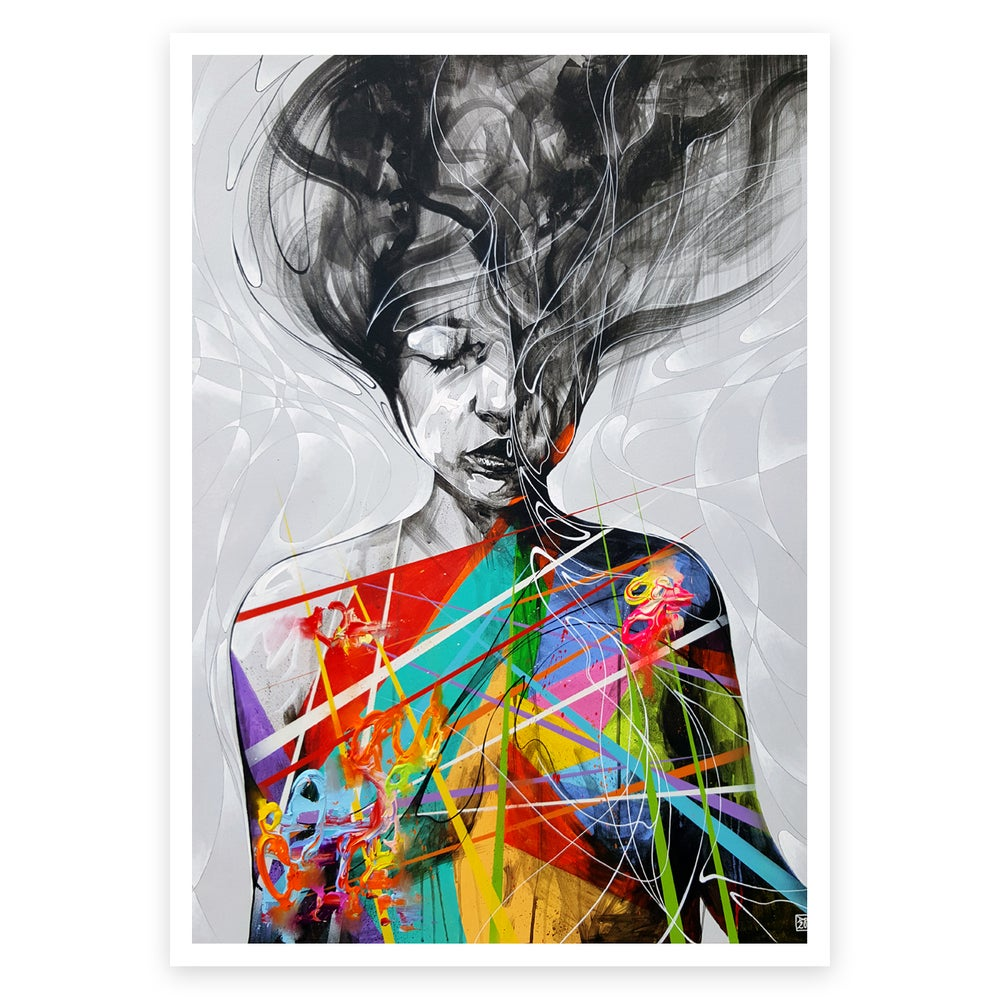 Image of Let The Melody Find Me OPEN EDITION PRINT - FREE WORLDWIDE SHIPPING!!!