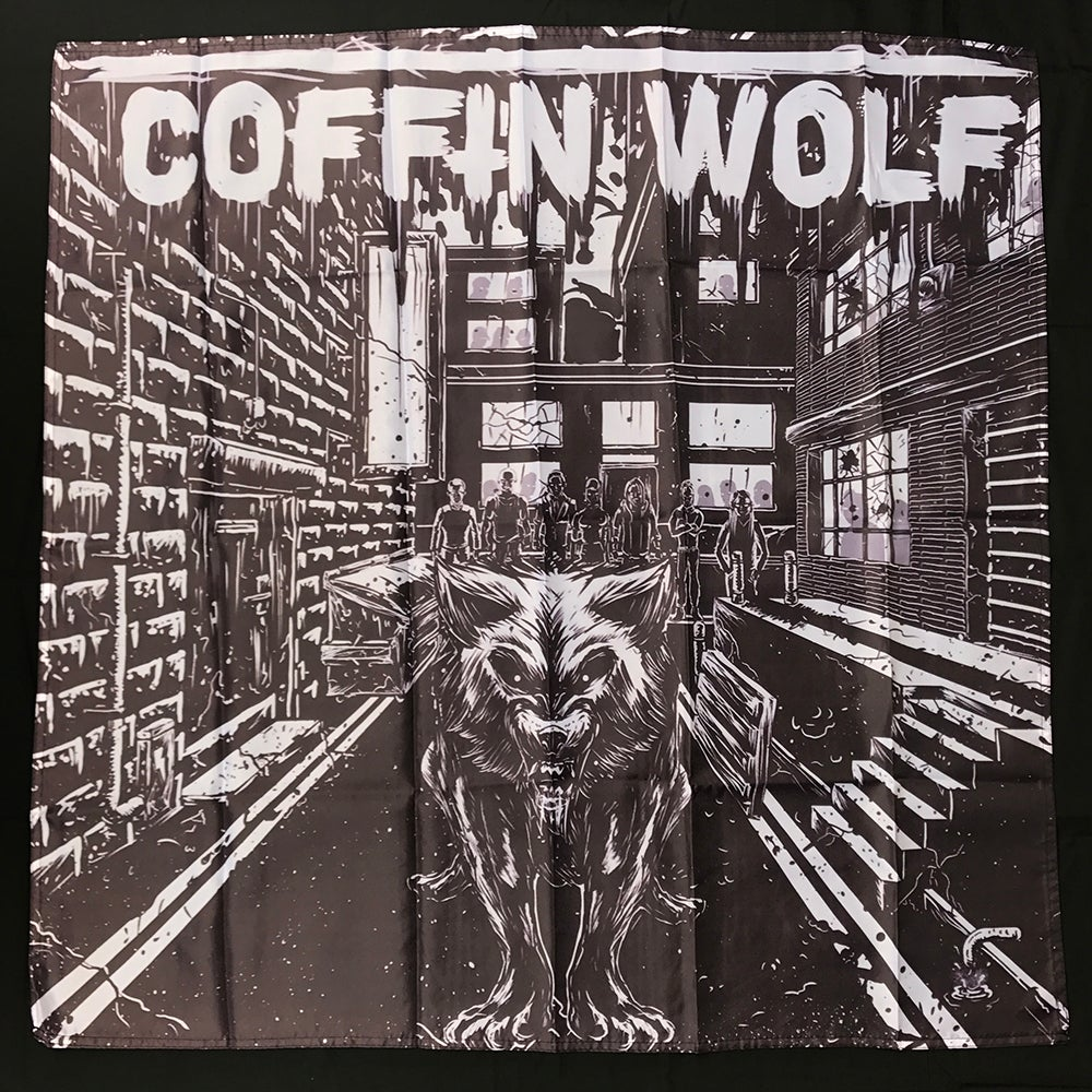 Image of Coffin Wolf Banner