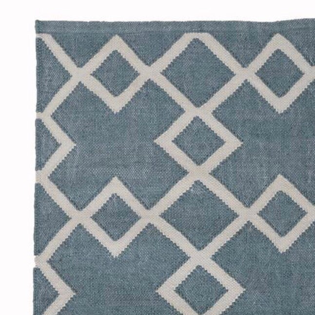 Image of Juno Rug in Teal Blue