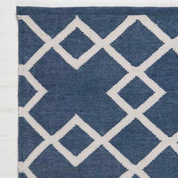 Image of Juno Rug in Navy Blue