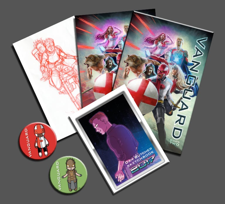 Image of Vanguard Book Two Pack